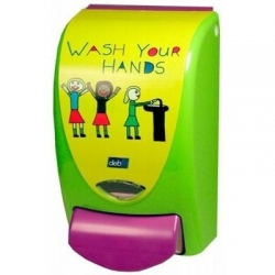 Deb Proline Wash Your Hands Dispenser 1lt