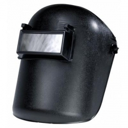 Lift Front Black Welding Helmet