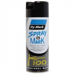 Dymark Spray & Mark Black 350g