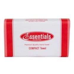Essentials Hand Towel Compact 120 Sheet