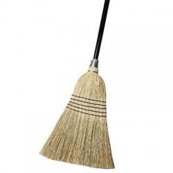 7 Tie Millet Broom