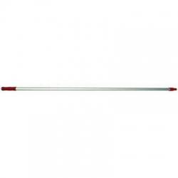 Aluminium Handle 1.5m x 25mm Red
