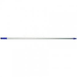 Aluminium Handle 1.5m x 25mm Blue