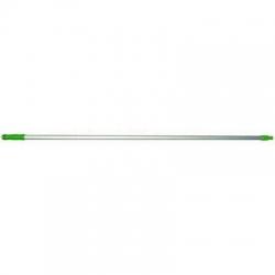 Aluminium Handle 1.5m x 25mm Green