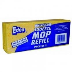 Universal Squeeze Mop Refill 2PK