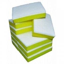 Sponge Scourer Yellow/White