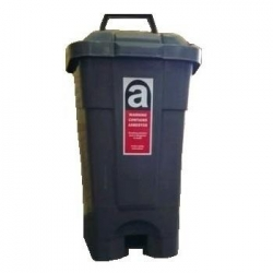 70ltr Wheelie Bin Dark Grey