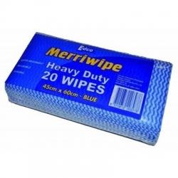 Merriwipe Blue 20pk