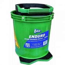 Enduro Nylon Wringer Mop Bucket Green