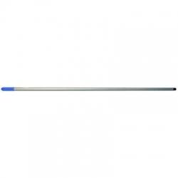 Powder Coated Metal Handle 1.5m x 25mm Blue