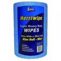 Merriwipe Roll Blue 45m