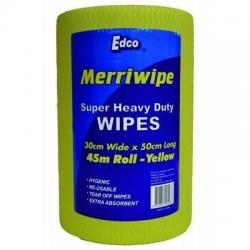 Merriwipe Roll Yellow 45m