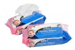 Edco Cheeky Wipes 80pk Refill