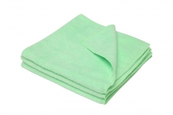 All Purpose Microfibre Cloth 3PK Green