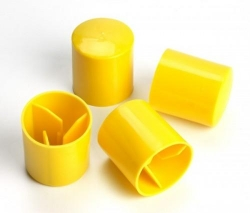 Star post / Reo Bar Cap Yellow Each