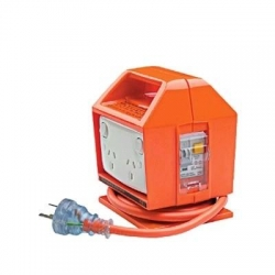 Portable RCD 4 Outlet