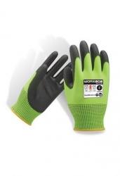 Force360 Worx202 Cut 5 PU HiVis Glove