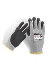 Force360 Worx203 Cut 5 Sand Nitrile Glove