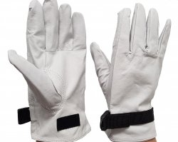 Deco Electrician Leather Outer Gloves