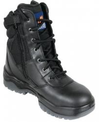 Mongrel 951020 Black High Leg ZipSider Boot