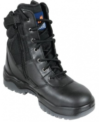 High Leg Zip Side Non Safety Boot