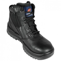 Zip Side Non Safety Boot