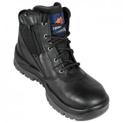 Mongrel 961020 Black ZipSider Boot