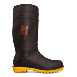 Oliver 10100 black waterproof safety gumboot