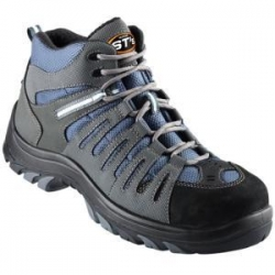 Oliver 44-535 Blue/Grey Lace up Boot