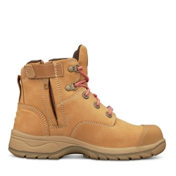Oliver 49-432Z Wheat Zip Sided Boot