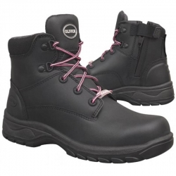 Zip Sided Safety Boot