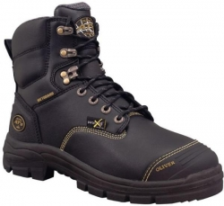 Lace Up Safety Boot With Met Guard