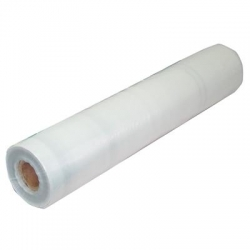 2/4m (50m Roll) Virgin Clear Builders Film 200um