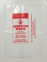 Asbestos Bag Small Individual