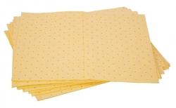 PRATT - Yellow Hazchem Absorbent Pad