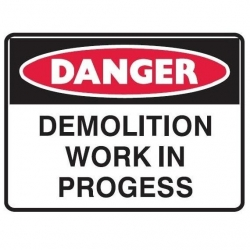 Demolition Work in Progress 600x450 Poly