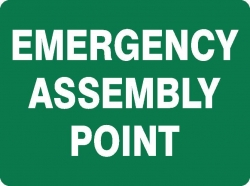 Emergency Assembly Point Sign