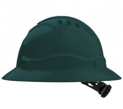 Pro Choice V6 Full Brim Hard Hat - Green