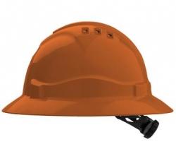 Pro Choice V6 Full Brim Hard Hat - Orange