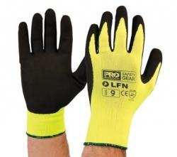 Pro Choice Hi-Vis Latex Foam Glove