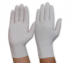 Natural Latex Examination Gloves POWDER FREE (100 pairs)