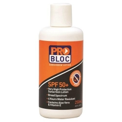 ProBloc SPF 50+ 250ml Sunscreen Bottle