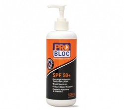 PRO CHOICE SS500-50 - SUNSCREEN SPF50+ 500ML PUMP