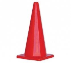 Orange Hi-Vis Traffic Cone 700mm