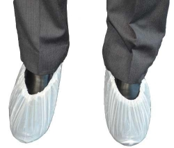 CPE Shoe Cover White