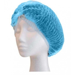 Crimped Berets 21 Blue