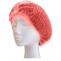 Crimped Berets 21 Red