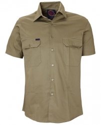 RITEMATE RM1000S - Short Sleeve Standard Weight Drill Shirt