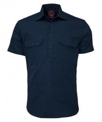 RITEMATE RM100CFS - Short Sleeve Standard Weight C/F Drill Shirt