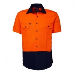Short Sleeve Standard Weight Drill Shirt